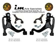 Range Rover Sport 05-10 Complete Front Arm Kit (wishbone) OEM Part Number