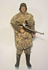 1/6 Scale WW2 Custom German SS Soldier with Rare Camo Zeltbahn!!!!!!!!!!!!!!!!!!