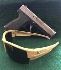 `Vypr Ballistic Tactical/Sport Sunglasses ( Hornet -Tan Frame-Gray /Lens)(!)