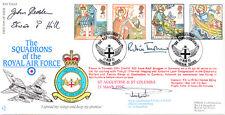 RAF FDC45 1997 St Augustine RAF FDC signed CO 14 Tornado Sqn RYCROFT 3 CHAPLAINS