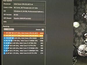 CPU Intel xeon E5-2673V4 20 core SR2KE 2.3ghz between E5-2698v4 and E5-2699V4
