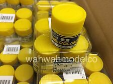 GSI CREOS GUNZE MR HOBBY Color C004 C4 Yellow LACQUER PAINT 10ml MODEL KIT NEW