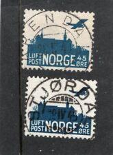 Norway used - F-VF - Norgeskatalogen 212 & 233