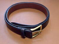 Shell Cordovan Belt Men's Color 8 Size 46