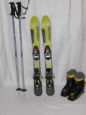 Alpin Fischer Ski Vc 100 Turn Mit Stöcken