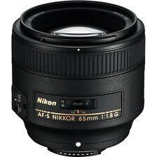 Nikon Nikkor 85mm F/1.8G Fast Prime FX Lens NEW +5 YEAR USA WARRANTY D850 D500