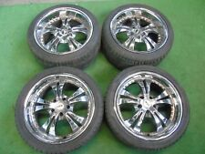 "CHRYSLER, HONDA, LEXUS, MAZDA, TOYOTA 18"" MANIA RACING DEEP DISH ALLOY WHEELS"