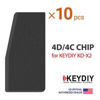 10× KEYDIY KD 4D/4C Copy Cloning Transponder Chip for KD-X2 KDX2 Tool