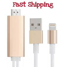 Hdmi Adapter Cable TV HDTV iPhone 5 5s SE 6 6s 6plus iPad Air iPad Pro iPad Mini