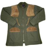 Beretta Vintage Men Large Polyester Lined Quilted Hunting Shooting Jacket
