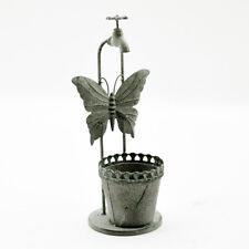 Lead Colour Planter, Garden Ornament, Metal, 50cm High, Stunning Item 5317
