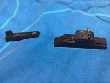 Sights front and rear with screws  4 Traditions Buckhunter  inline