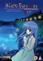 When They Cry: KAI S2 Collection [DVD] [2018][Region 2]