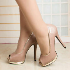 High (3 in. and Up) Stiletto Bridal or Wedding Synthetic Heels for Women