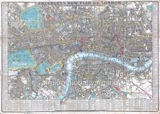 Map. 1840s.  Detailed - London