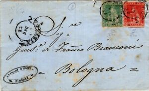 Kenr2: Tuscany 1859 Folded Cover to Bologna