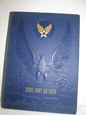 US ARMY AIR FORCES HOBBS ARMY AIR FIELD PILOT SCHOOL WW II YEARBOOK 1943