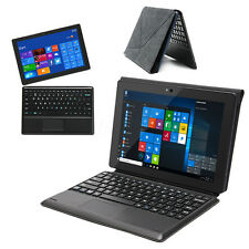 2 IN1 10'' Windows 10/8 Android Touch Screen Computer Laptop Interl Z8350 4 Core