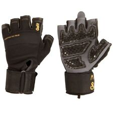 GoFit Mens Medium Protrainer Diamond-Tac Palm Wrist Wrap Weight Lifting Gloves