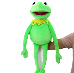 New Sesame Street Large  Kermit frog Puppets The Muppet Show  Lush Doll Toy 22in