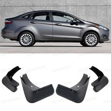 4 Mud Flaps Splash Guard Fender Car Mudguard for Ford Fiesta Sedan 2014-2017