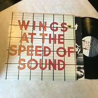 Paul McCartney and wings at the speed of sound sw11525 original beatles 1976!