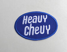 Heavy CHEVY, Patch, écusson, Aufbügler, muscle car, v8, Pick Up, SUV