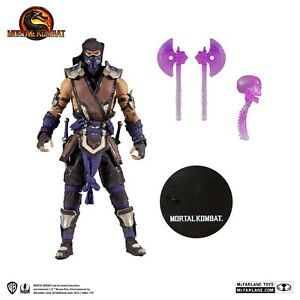 McFarlane Mortal Kombat Sub Zero Winter Purple Version Action Figure UK & MISB
