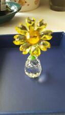 New ListingSwarovski crystal figurine Flower Dreams Sunflower in excellent condition