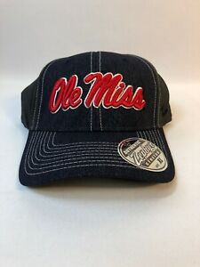 Ole Miss Authentic Zephyr Stretch XL Hat NWT