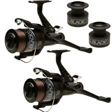 Runner Carp Reel X2 Carp Fishing Spare Spool All Black Lineaeffe 60 Freespool