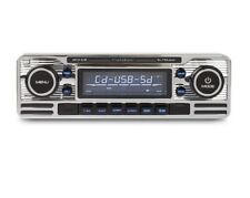 Caliber Classic Car Retro Style Chrome Car CD Player FM USB SD Aux Becker Style