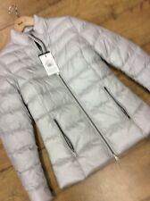 Barbour Ladies Silver Quilted Jacket Size 10 Uk