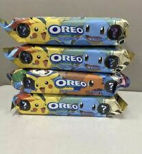 New Nabisco Oreo Pokemon Creme Cookies Limited Edition *READY TO SHIP*  4 PACKS
