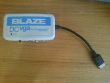 Sega Dreamcast Blaze Vga Adapter fully tested