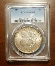 1886 Morgan Silver Dollar - MS 65 Graded PCGS. LOW SHIPPING!!