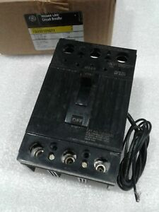 TQD32125ST1 GE WITH SHUNT TRIP 3POLE 125AMP 240V CIRCUIT BREAKER NEW!