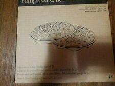 NIB Pampered Chef #1241 Microwave Chip Maker Set Of 2