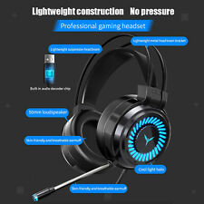 Esports Gaming Headset Pc Headphone 7.1 Surround Sound for Pc Mac Laptop Usb