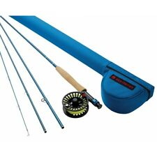 Redington Crosswater Outfit 9' 6 Wt 4 Pc Fly Rod, Reel, Line, Leader, Case
