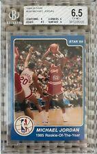 1984-85 Star #288 Michael Jordan - Rookie of the Year - BGS 6.5