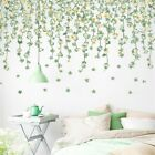 Fresh Plant Flower Wall Home Decor For Bedroom Living Room Wall Stickers Decals