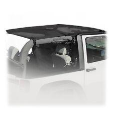 Rampage Combo Brief & Topper - Black Mesh for 2007-2018 Jeep Wrangler JK 2 Door