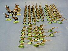 Soldats plats d'étain - Flat tin - 92 soldats infanterie légère russe en 1812