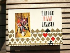 Carte bridge Rami Canasta coffret jeux