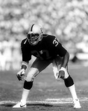 Oakland Raiders LESTER HAYES Glossy 8x10 Photo NFL Football Print Poster