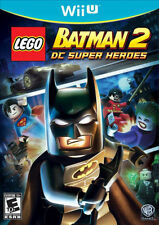 Nintendo Wii U Game LEGO BATMAN 2 DC SUPER HEROES
