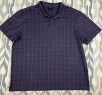 Van Heusen  Men's Shirt Button Front Short Sleeve Polo Size 2XL