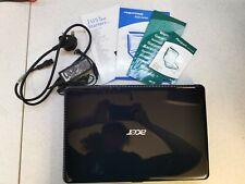 Acer Aspire 5532 Laptop Dark Blue Setup Guide Charger AMD Athlon @ 1.6GHz, 3GB