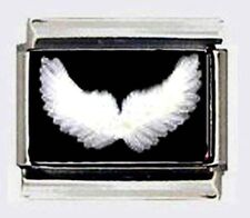 ANGEL WINGS new Italian photo 9mm Charms for modular style link bracelets
